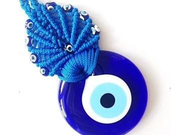 Evil Eye Bead 10cm Evil Eye Wall Hanging Evil Eye Charm