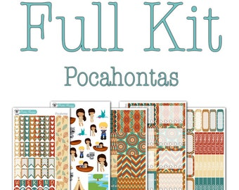Pocahontas Collection - Disney Planner Stickers