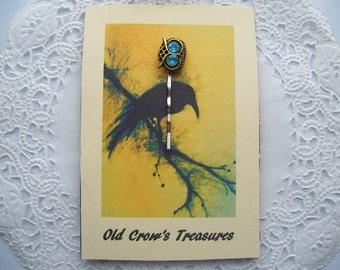 Owl Hair Pin - (#03) - Owl Jewelry - Jeweled Hair pin - Owl Bobby Pin - Hair Bling