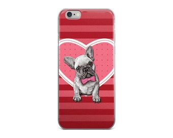 French bulldog phone case, dog phone case, bulldog puppy phone case, bulldog iphone case, bulldog samsung case, french bulldog mobile case