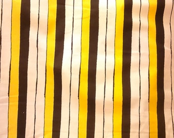Fabric white black yellow stripes Modern Design Cotton Fabric House textilies Fabric Scandinavian Design Scandinavian Textile