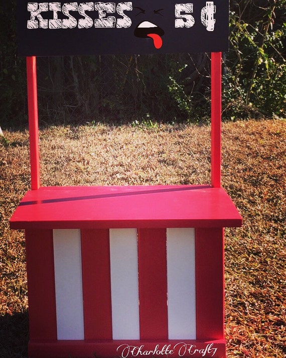 Any Color Kissing Booth little Helper's Booth Photography Prop