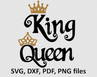 King Queen Princess Prince T shirts. Royal Family Shirt Design. Family T shirt Vinyl Cut File - Svg Dxf Png Crowns Svg T shirt Iron on File