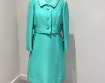 Vintage 1960's Petite Francaise dress and jacket