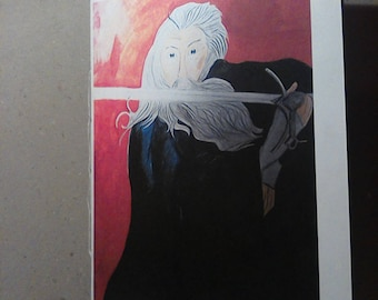 Gandalf the grey notebook