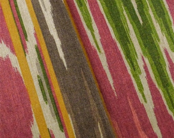 Multi P/Kaufmann Ikat Print Home Decorating Fabric, Fabric By The Yard