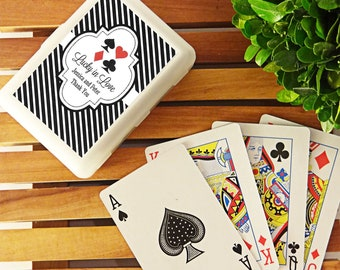 Personalized Casino Las Vegas Playing Cards (Set of 24 Decks) *Available in 7 Styles, 22 Colors, and 11 Patterns*