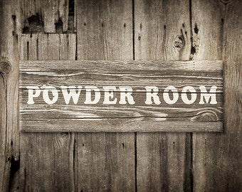 Powder room decor, rustic home decor, powder room photography, brown wall art, rustic bathroom decor, print for bathroom, wooden powder room