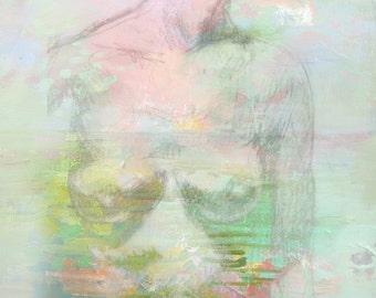 Figurative Dream-- Fine Art Print