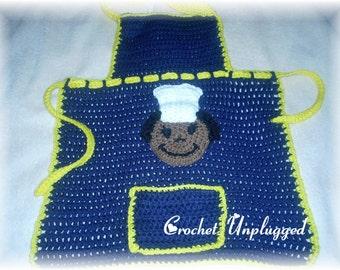 Child's Crochet Bib Apron