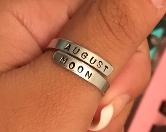 August Moon wrap ring
