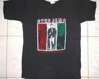 vintage PAUL WELLER 1993 tour t-shirt - rare XL - jam, mod, punk