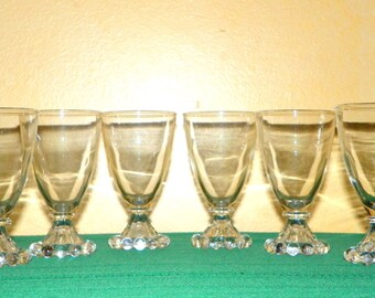 Boopie 3 7/8 Inch Juice Glasses made by Anchor Hocking, 18 Available