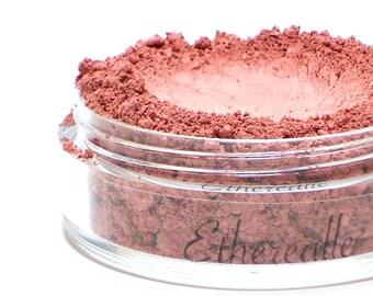"""Matte Plum Pink Blush - """"Sugar Plum"""" (natural light plum pink, 4.5g Net wt) - Vegan"""