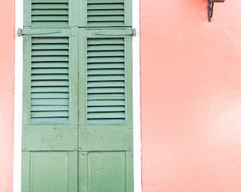 Fine Art Photography Print New Orleans Louisiana Historic French Quarter District Door