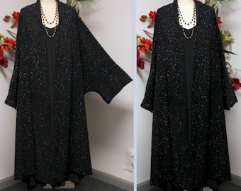 New Designer Duster, Over Size Coat, Plus size Coat, Lagenlook Coat/Duster, Duster, Swing Coat,  will fit 3X TO 6X