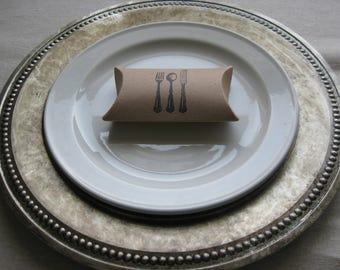 Antique Cutlery - Pillow Boxes (20)