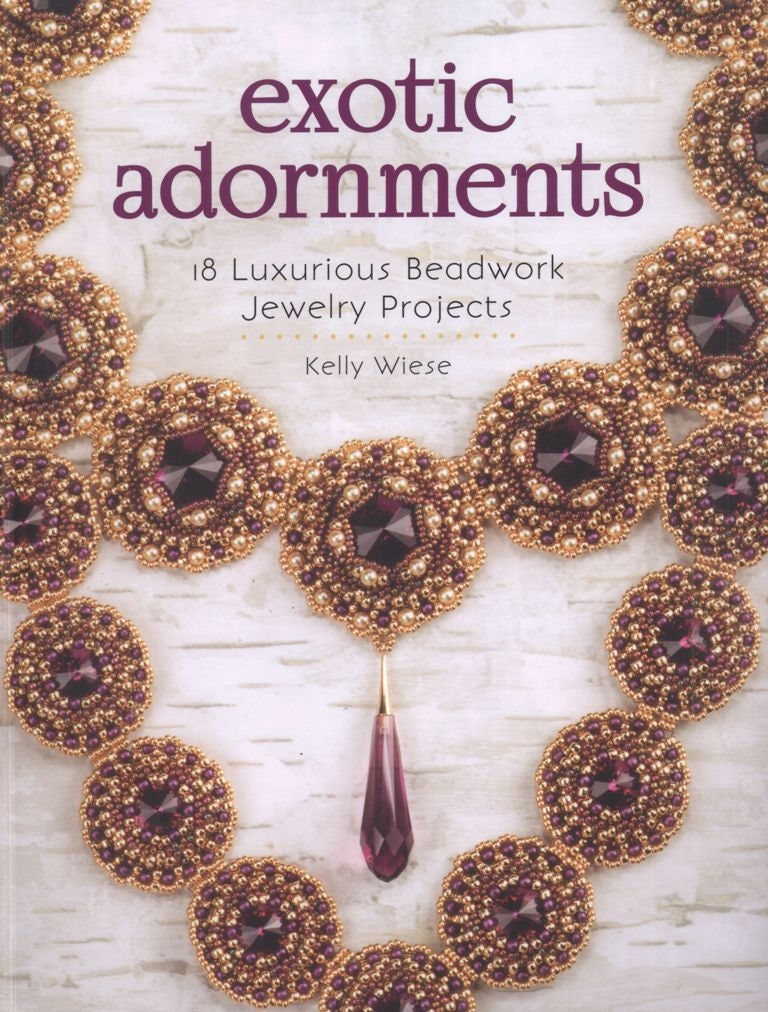 Exotic adornments 18 luxurious beadwork jewelry projects zoom fandeluxe Images