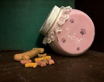 Woof Treat Jar