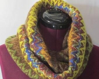 Infinity Scarf - Wool Multicolor