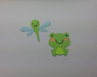 Frog & Dragonfly Die Cuts