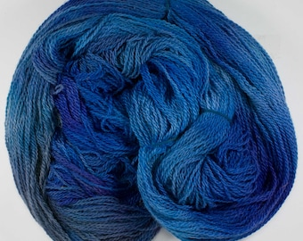 Hand Dyed 100% Alpaca Yarn - Sport Weight - From the Family Farm!