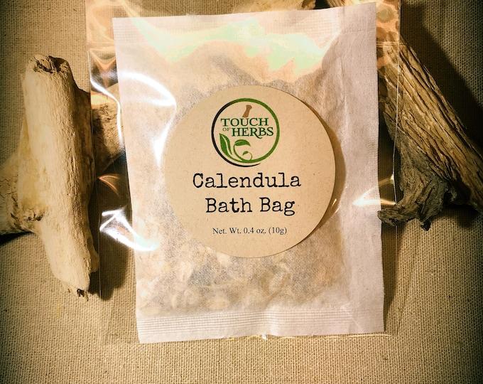 Calendula Bath Bag - Herbal Bath Tea