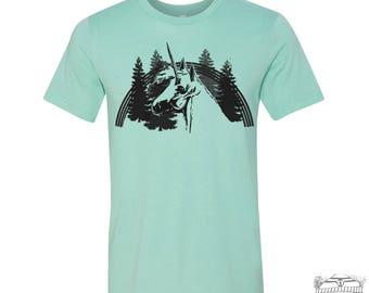 Men's UNICORN t shirt s m l xl xxl (+ Color Options) hand screen printed custom