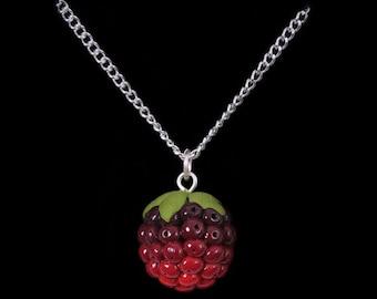 Summer Blackberry (Bramble) Necklace