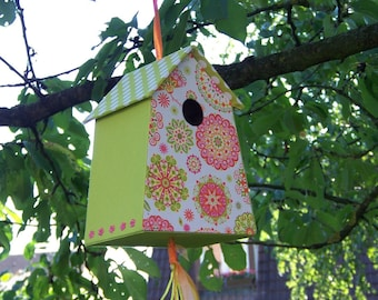 Instructions for cartonnage easy to make an easy trapeze birdhouse