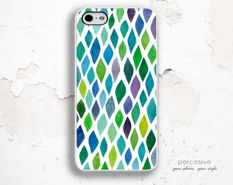 iPhone 6 Case Leaf Pattern - iPhone 5C Case Leaves, iPhone 5 / 5S Case, iPhone 4 Case, iPhone 4s Case, Leaf Pattern iPhone 6 Case :0860