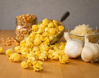 Garlic Parmesan Gourmet Popcorn