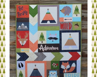 Adventure with My Tribe Quilt PDF Pattern