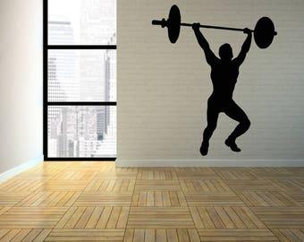 Wall Decal Sticker Bedroom gym boy girl teenager teen kids room  030d