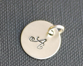 "Charm- A la Carte - 3/8"" or 1/2"" or 5/8"" Customizable, Personalized, Custom"