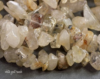 Quartz Chips Beads Mixed Quartz Chips