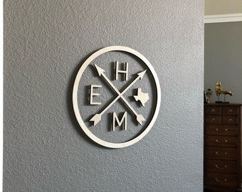 Texas Home Sign - Home wood sign - Farmhouse Sign - Rustic Home Decor - Housewarming Gift - Farmhouse Decor - Wooden Sign - Rustic Wood Sign