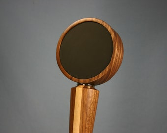 Chalkboard Beer Tap Handle - Made from Black Walnut with a Rock Maple Stripe