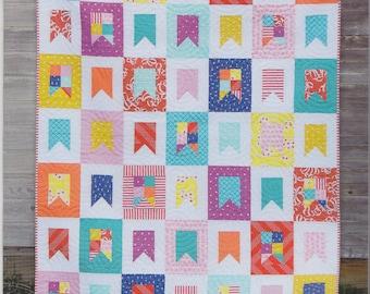 Cluck Cluck Sew Celebrate Quilt Pattern