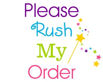 Rush My Order within USA