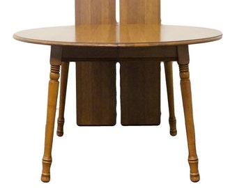 """TELL CITY Young Republic Rock Maple 48"""" Round Kitchen Table"""