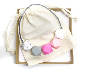 Silicone Teething / Nursing Necklace