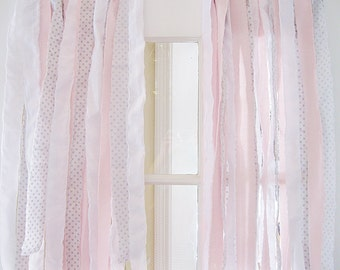 Shabby Chic Curtains Etsy
