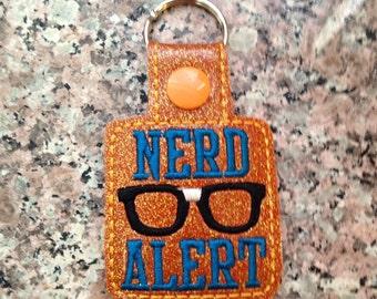 Nerd Alert key fob