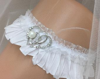 Vera - Glamorous Bling Bridal Wedding Garter