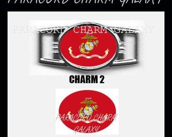 MARINES Paracord Bracelet Charm Shoelace Charm Charm 2