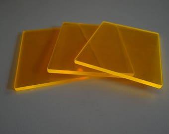 Cardistry Deck, card tricks, neon deck, bright orange cards for tricks