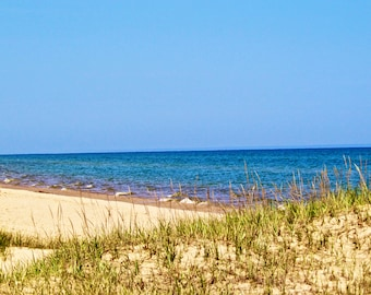 Lake Michigan Beach Photography Print