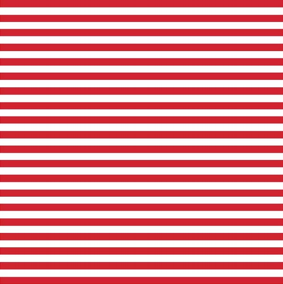 Red White Stripe Craft Vinyl Sheet Htv Or Adhesive Vinyl