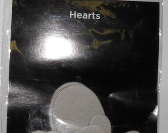 Bazzill Chipboard Hearts